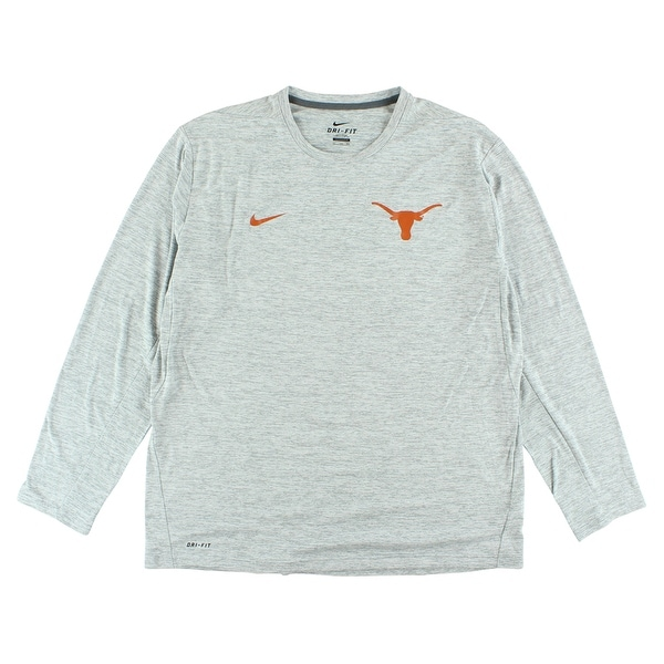 3c5758d116e5d9 Shop Nike Mens Texas Longhorns 2017 Coaches Touch T Shirt Grey - heather  grey orange - XxL - Free Shipping On Orders Over  45 - Overstock - 22615147