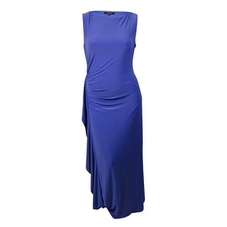 Nine West Women's Rhinestone Cascade Jersey Gown - 16