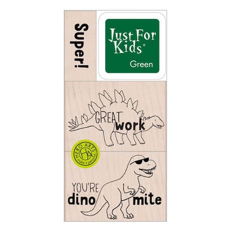 Super Dino Stamp Set - One Size