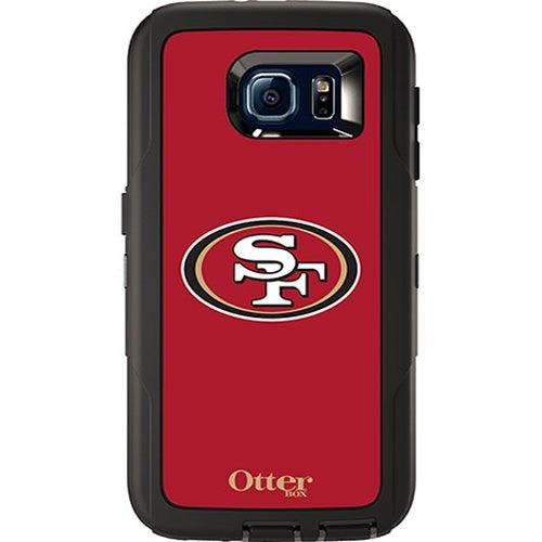 OtterBox Defender Case for Samsung Galaxy S6 (NFL San Francisco 49ers)