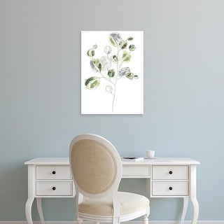 Easy Art Prints June Erica Vess's 'Sea Greens II' Premium Canvas Art