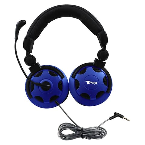 T-PRO TRRS Headset with Noise-Cancelling Microphone Custom-Made for School Testing