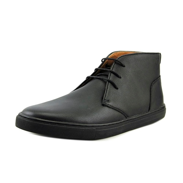 Peter Werth Grant Chukka Men Round Toe Leather Black Chukka Boot