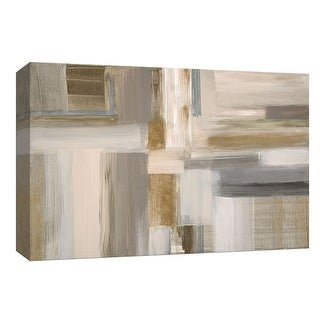 """PTM Images 9-148110  PTM Canvas Collection 8"""" x 10"""" - """"Fields"""" Giclee Abstract Art Print on Canvas"""