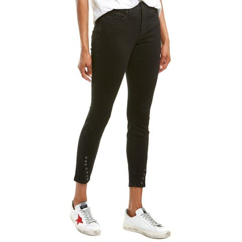 Nydj Ami Black Skinny Ankle Cut