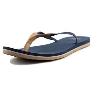 Ugg Australia Magnolia Women N/S Open Toe Leather Blue Flip Flop Sandal