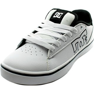 DC Shoes Notch Youth  Round Toe Leather White Skate Shoe