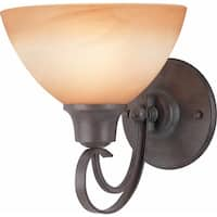 Volume Lighting V2661 Altamonte 1 Light Bathroom Sconce - frontier iron