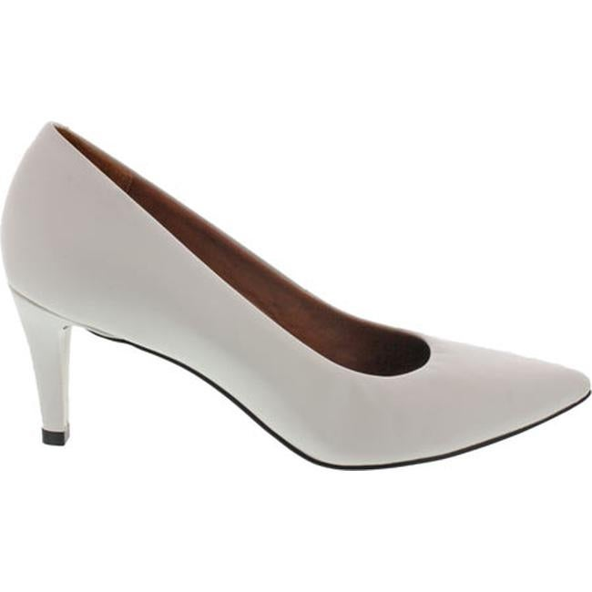 00ccbf8aac Shop Walking Cradles Women's Sophia Pump White Cashmere Leather - On Sale -  Free Shipping Today - Overstock - 11798982