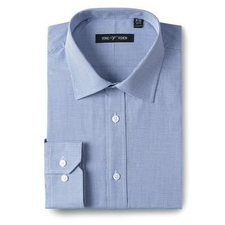 Link to Men's Classic/Regular Fit 100% Cotton Long Sleeve Textured Dress Shirt Similar Items in Shirts