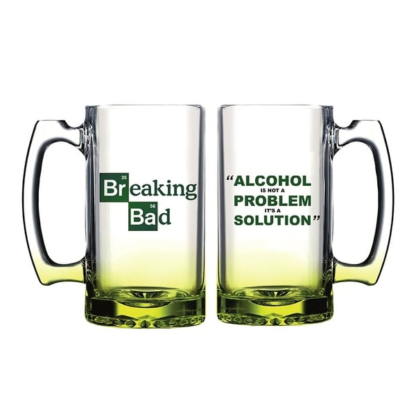 Breaking Bad Alcohol Solution Beer Mug - Multi