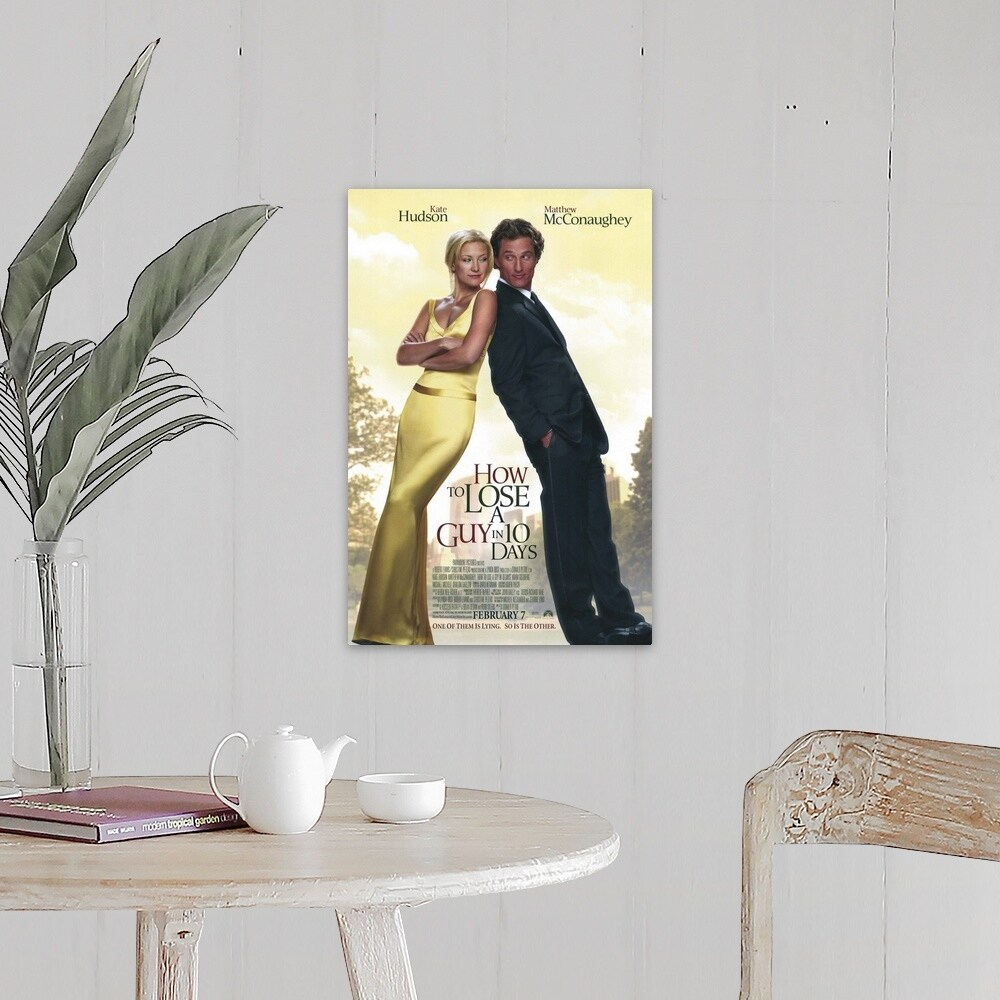 Shop How To Lose A Guy In 10 Days 2003 Canvas Wall Art Overstock 24137648