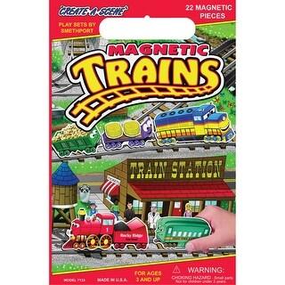 Trains - Magnetic Create-A-Scene Kit