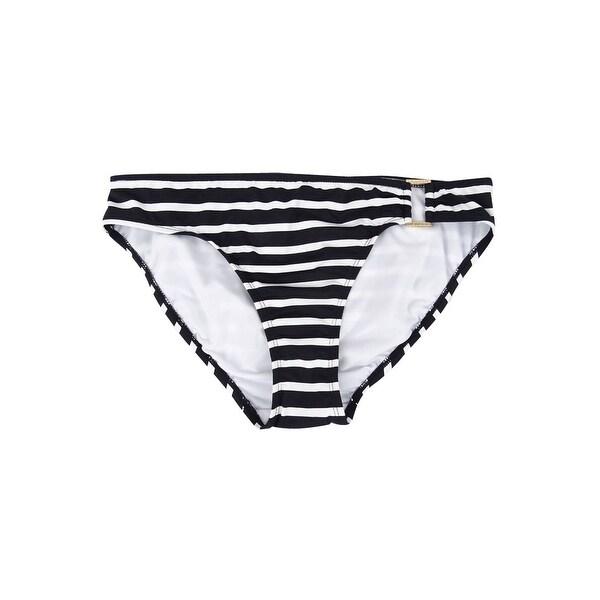 LAUREN Ralph Lauren Women's Striped Hipster Swim Bottom Swimsuit. Opens flyout.
