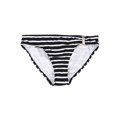LAUREN Ralph Lauren Women's Striped Hipster Swim Bottom Swimsuit