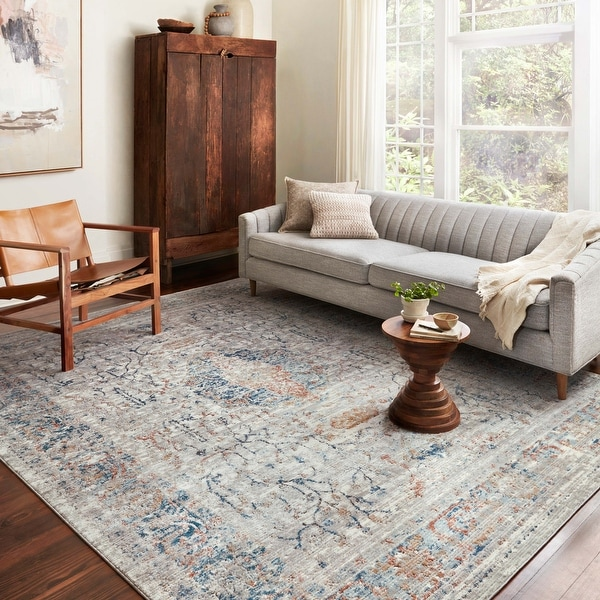 Alexander Home Charlotte Vintage Transitional Area Rug. Opens flyout.