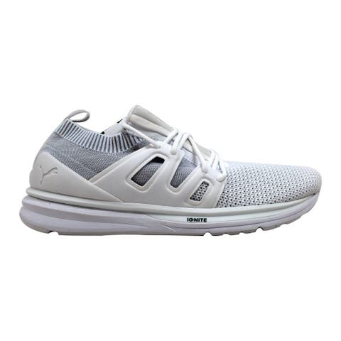 cheap for discount 0232f 9443c Puma BOG Limitless Lo evoKnit S Puma White Blaze Of Glory 363669 02 Men s