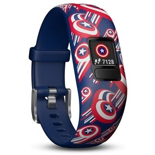 Garmin vivofit Jr 2 Adjustable Captain America vivofit Jr 2 Fitness Watch