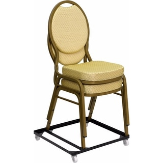 Offex HERCULES Series Steel Stack Chair and Church Chair Dolly [OF-FD-BAN-CH-DOLLY-GG]