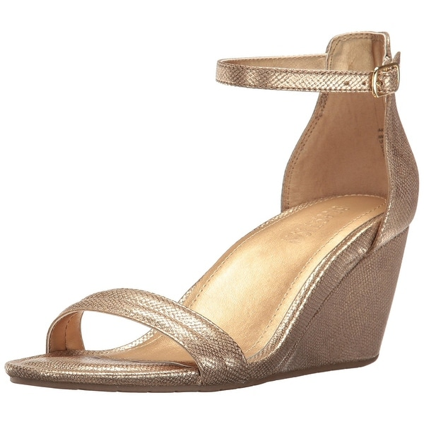 Kenneth Cole Reaction Womens Cake Icing Open Toe Casual Ankle Strap Sandals