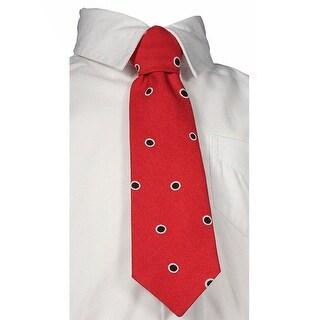 Little Things Mean A Lot Little Boys Brown Tan Ivory Stripes Tie