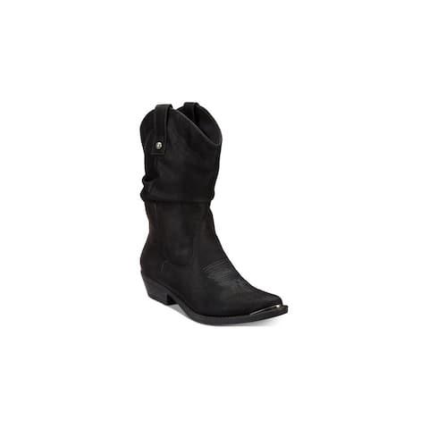 American Rag Womens Kallie Almond Toe Mid-Calf Fashion Boots