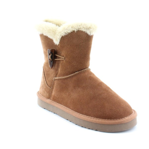 Style & Co. Tiny Women's Boots Chestnut