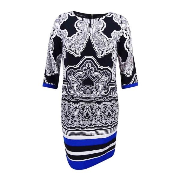 ca1fb8760620 Shop INC International Concepts Women's Plus Printed Shift Dress (0X,  Secret Garden) - secret garden - 0X - Free Shipping On Orders Over $45 -  Overstock - ...