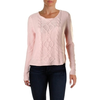 Sutton Studio Womens Cashmere Long Sleeves Sweater