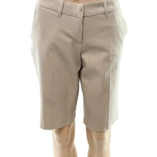 Halogen Women's Front Tab Bermuda Walking Shorts