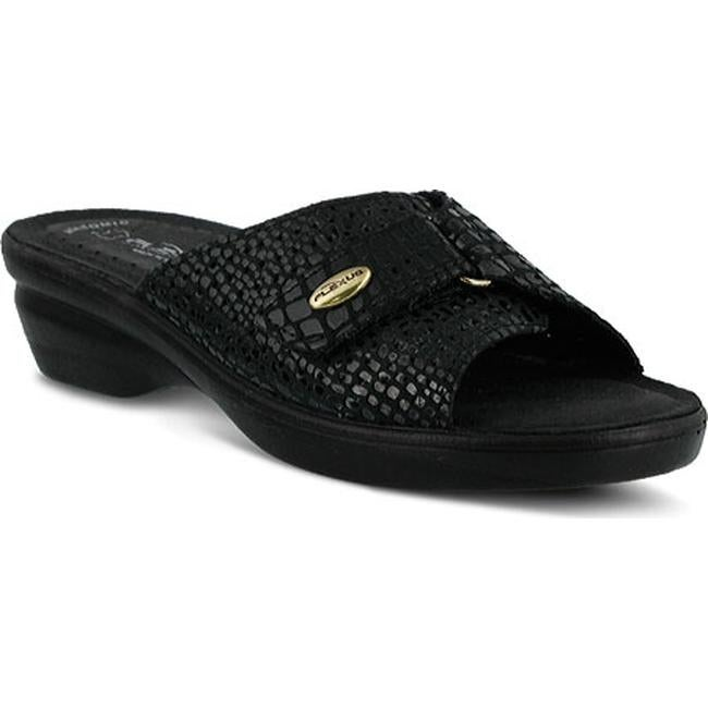2ba06955d406 Shop Flexus by Spring Step Women s Carrie Black Python Leather - On Sale -  Free Shipping Today - Overstock - 9754310