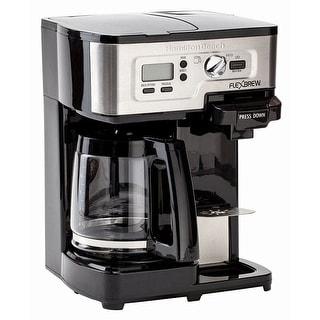 Hamilton Beach 49983 2-Way FlexBrew Coffee Maker, Black