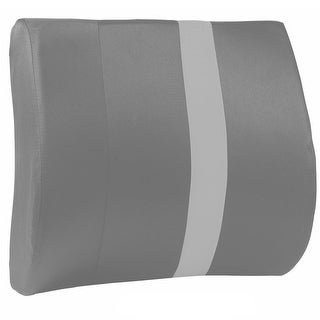 Healthsmart(R) Vivi Relax-A-Bac Portable Lumbar Support Cushion - Grey