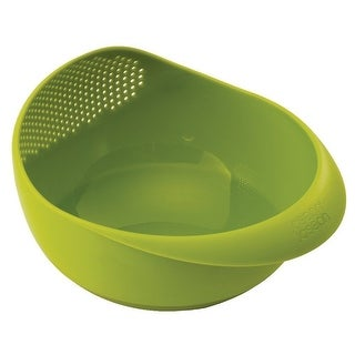 Joseph Joseph Prep and Serve Multi-Function Bowl with Integrated Colander, Small, Green