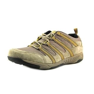 Propet Jackson Round Toe Suede Walking Shoe