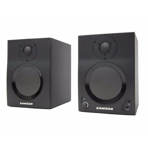 Samson Technologies MediaOne BT4 Active Studio Monitors with Bluetooth