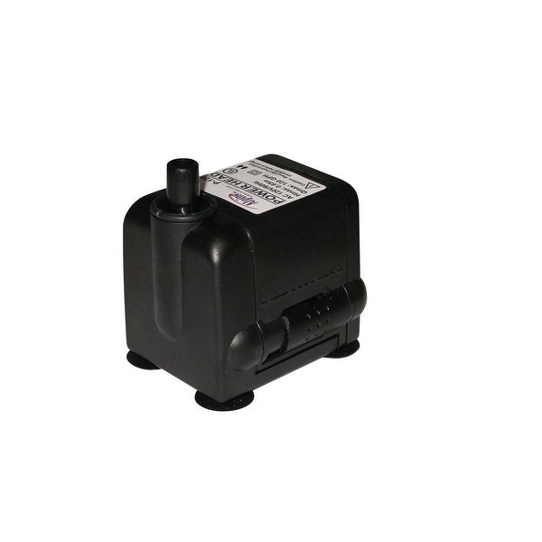 Fountain Replacement Pump - Black