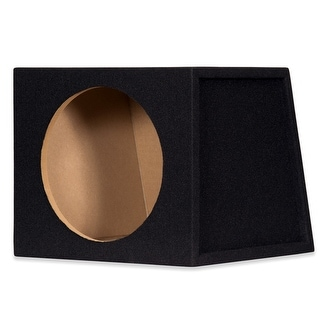 "Goldwood Sound TR12S Sealed 12"" Single Car Bass Box Speaker Enclosure Cabinet for Truck SUV"