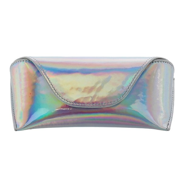 321f35b2b24 CTM® Women  x27 s Iridescent Glasses Case with Magnetic Closure - one size.  Click to Zoom