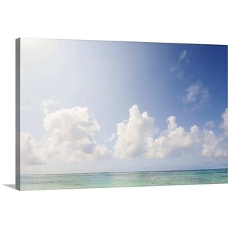 """Paradise"" Canvas Wall Art"