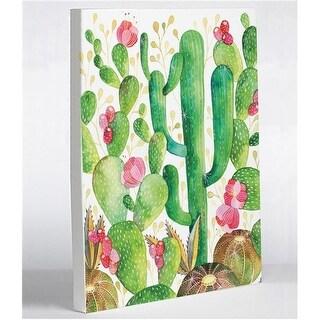 8 x 10 in. Cactus Canvas Wall Decor by Ana Victoria Calderon