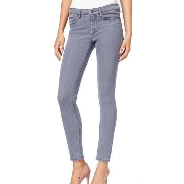 Buffalo David Bitton NEW Gray Pewter Womens Size 33x30 Faith Skinny Jean