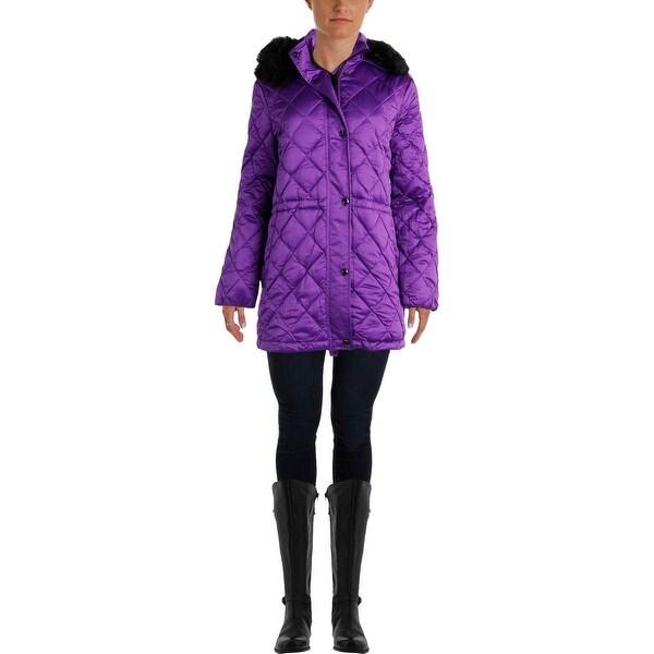 Lauren Ralph Lauren Womens Down Hooded Puffer Coat