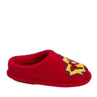 Dearfoams Boys Novelty Clog Slip On Slide Slippers
