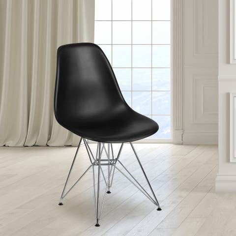 Plastic Chair-Chrome Base - Hospitality Seating - Accent & Side Chair
