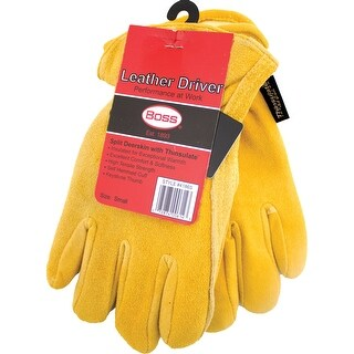 Therm Insulated Split Deerskin Driver Glove