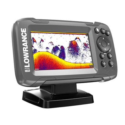 Lowrance hook2-4x gps bullet fishfinder with track plotter
