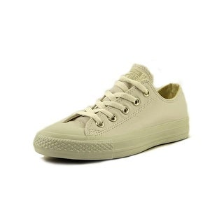 Converse Chuck Taylor All Star Lea Ox Round Toe Leather Sneakers