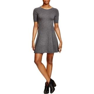 Aqua Womens Wear to Work Dress Cashmere Short Sleeves