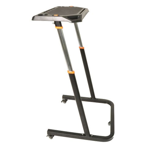 Conquer Adjustable Height Cycling Trainer Desk / Portable Standing Desk Workstation